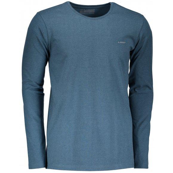Pánské triko s dlouhým rukávem LOAP BABOL CLM1870 MODRÁ