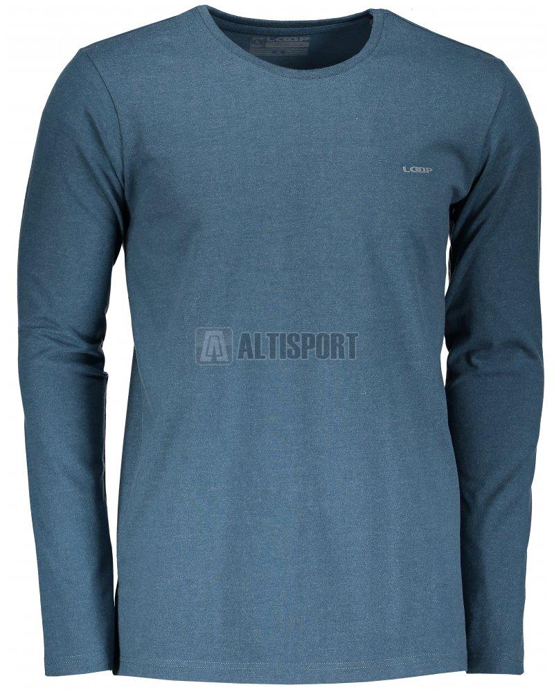 Pánské triko s dlouhým rukávem LOAP BABOL CLM1870 MODRÁ velikost  S ... a5373df6ac