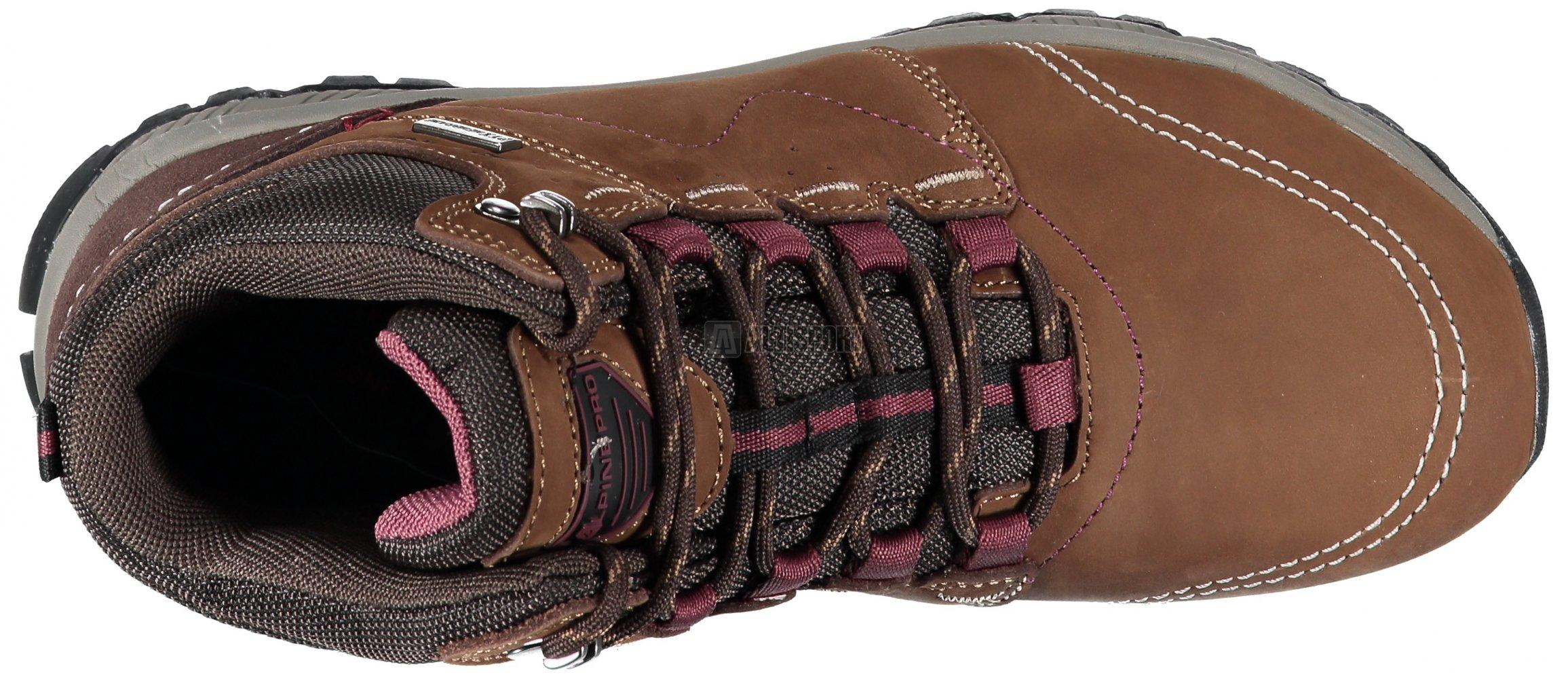Dámské zimní boty ALPINE PRO ERELA LBTM178 HNĚDÁ velikost  EU 37 (UK ... 8b1a4d6e0ec
