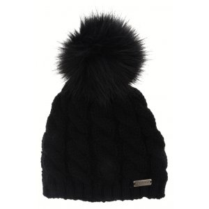 Dámská zimní čepice RELAX ROLLY RKH16A BLACK 16fb548d8f