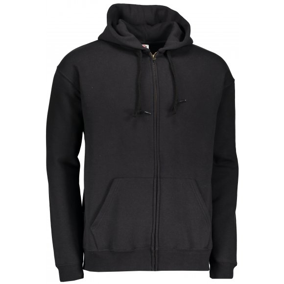 Pánská mikina s kapucí FRUIT OF THE LOOM PREMIUM HOODED SWEAT BLACK ... 32da400332