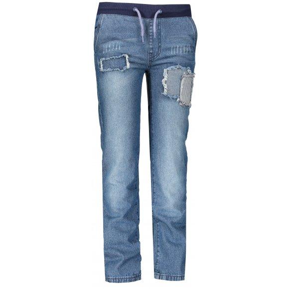 Dětské džíny SAM 73 KPAM138 MODRÁ STONEWASH