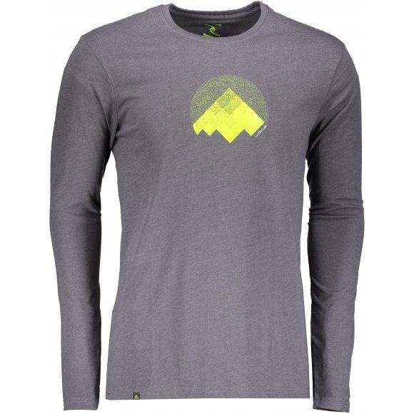 Pánské triko s dlouhým rukávem LOAP ALTON CLM1871 ŠEDÁ