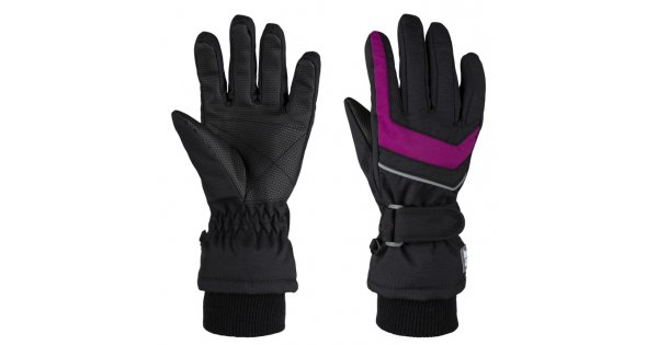 Dětské zimní rukavice LOAP RENKO L8153 ČERNORŮŽOVÁ velikost  4    ALTISPORT.cz 711f3ffc4c