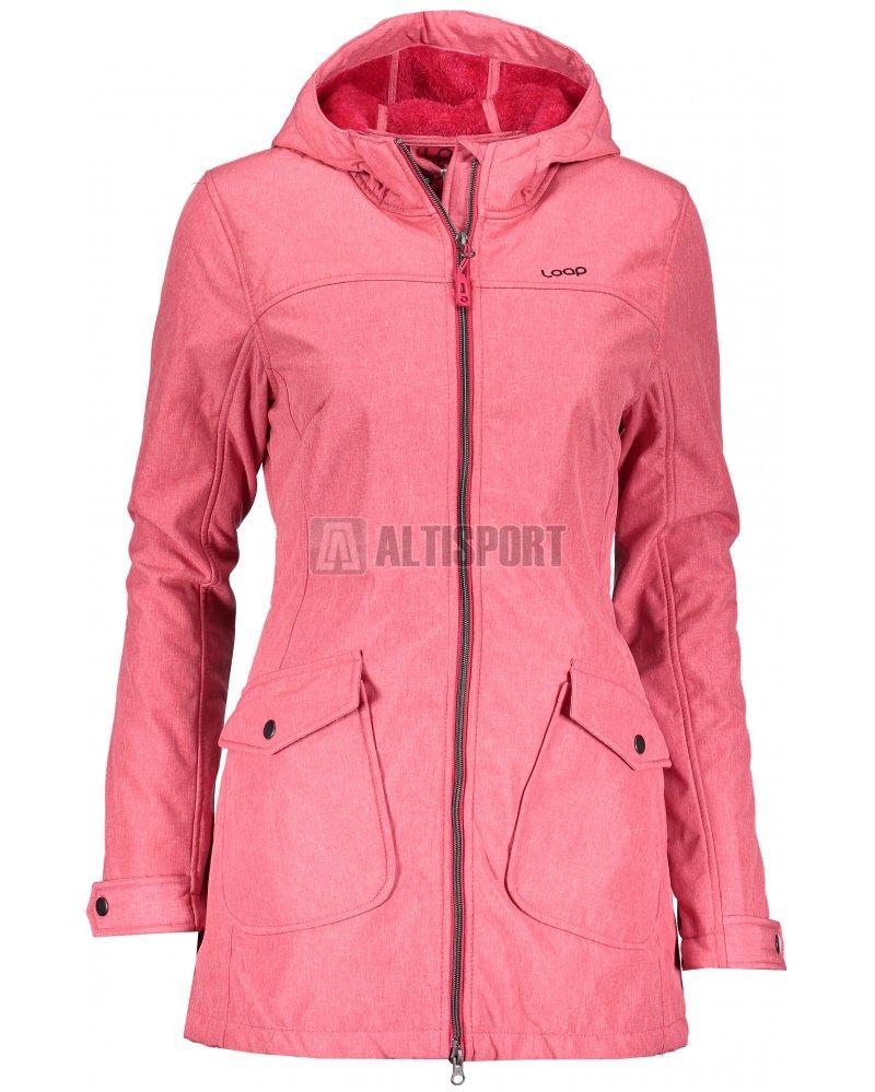 692edd6f6f58 Dámský softshellový kabát LOAP LATISHA SFW1812 RŮŽOVÁ velikost  XS ...