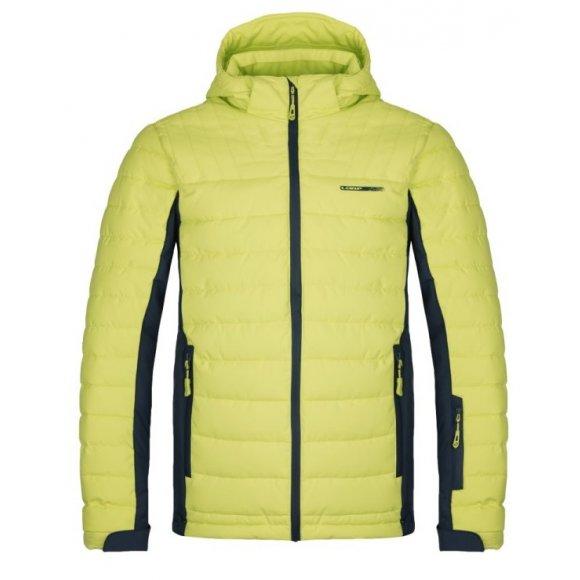 Pánská lyžařská bunda LOAP OMRI OLM1831 ŽLUTÁ