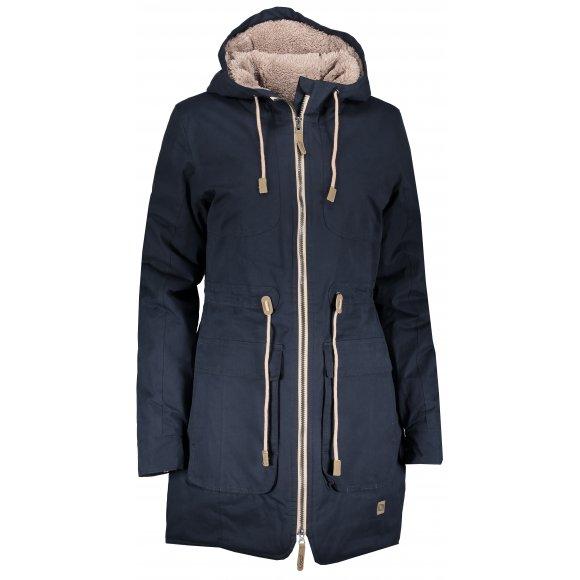 Dámský zimní kabát LOAP NOELA CLW1894 MODRÁ