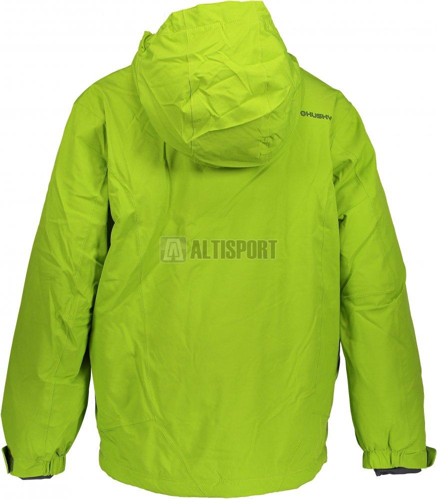 Dětská lyžařská bunda HUSKY ZENGL J ZELENÁ velikost  140   ALTISPORT.cz 7655670a11