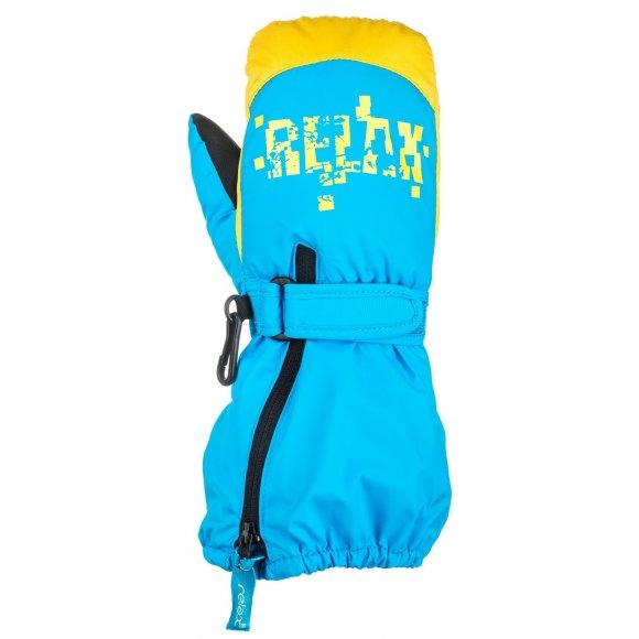 Dětské lyžařské rukavice RELAX PUZZYTO RR17H BLUE