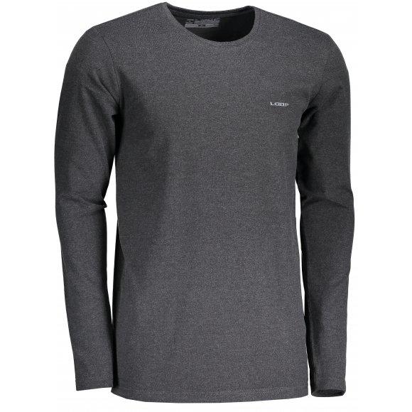 Pánské triko s dlouhým rukávem LOAP BABOL CLM1870 ČERNÁ