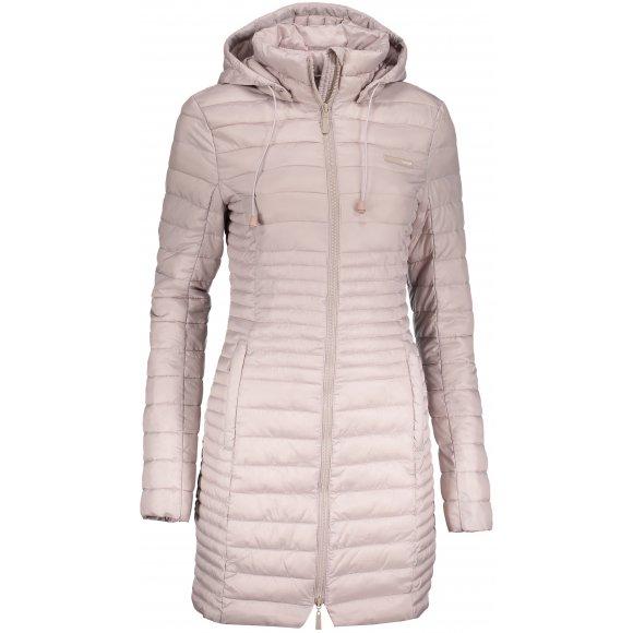 Dámský kabát LOAP JOMANA CLW18109 BÉŽOVÁ