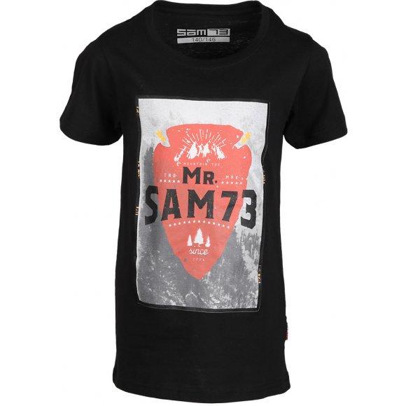 Chlapecké triko SAM 73 BOTIL KTSL126 ČERNÁ