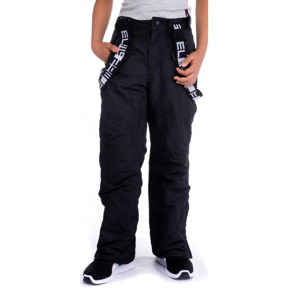 Chlapecké zimní kalhoty SAM 73 BK 514 ČERNÁ