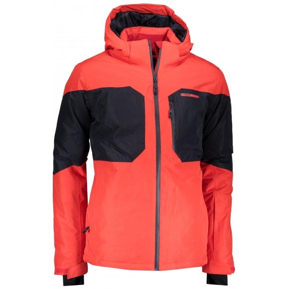 Pánská lyžařská bunda LOAP FRITZ OLM1820 ČERVENÁ
