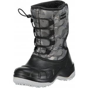 Dětská zimní obuv ALPINE PRO AMARO KBTM175 TMAVĚ ŠEDÁ 91ca5de040
