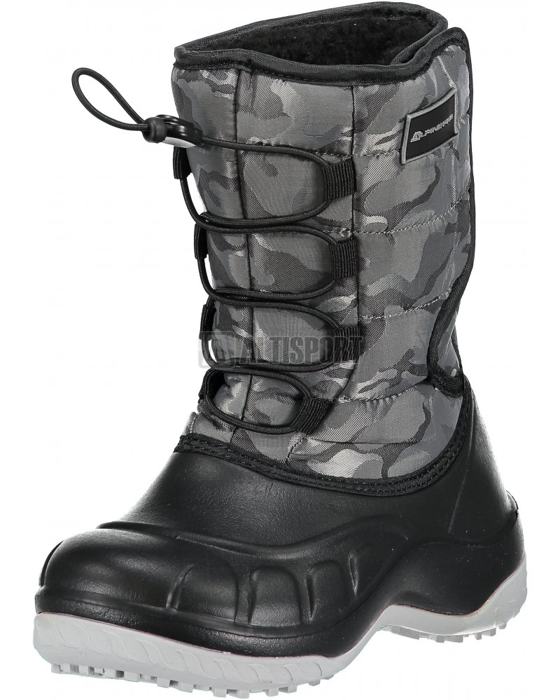 30231068d19 Dětská zimní obuv ALPINE PRO AMARO KBTM175 TMAVĚ ŠEDÁ velikost  EU ...