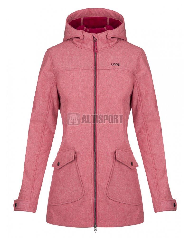 799be08562d Dámský softshellový kabát LOAP LATISHA SFW1812 RŮŽOVÁ velikost  XS ...