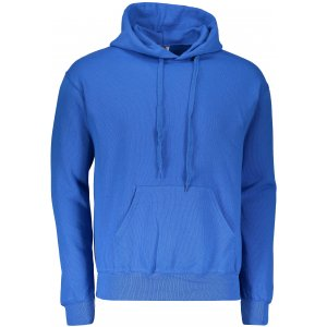 Pánská mikina s kapucí FRUIT OF THE LOOM CLASSIC HOODED SWEAT ROYAL BLUE