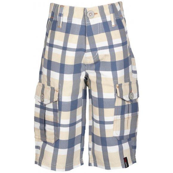 Chlapecké 3/4 kalhoty SAM 73 ATROP KPAL109 BÍLÁ