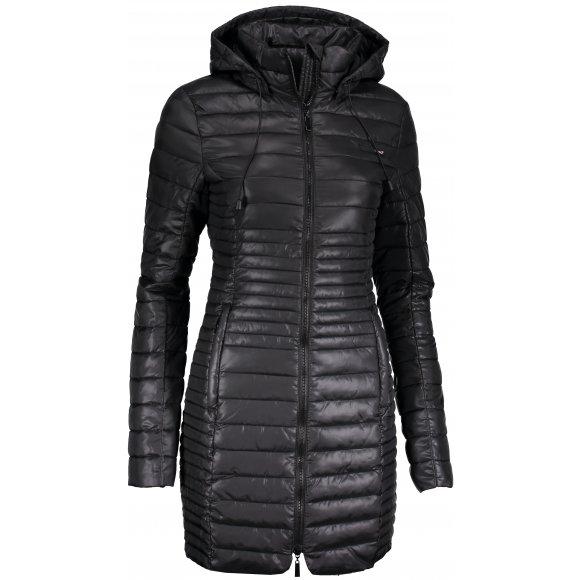 Dámský kabát LOAP JOMANA CLW18109 ČERNÁ