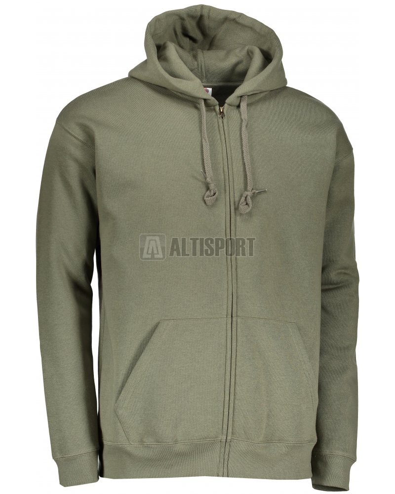 Pánská mikina s kapucí FRUIT OF THE LOOM PREMIUM HOODED SWEAT CLASSIC OLIVE 34a98ac369