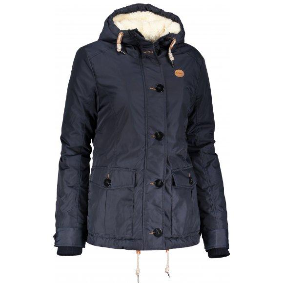 Dámská zimní bunda SAM 73 WB 756 TMAVĚ MODRÁ