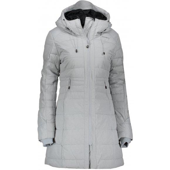Dámský zimní kabát HUSKY NORMY L SVĚTLE ŠEDÁ