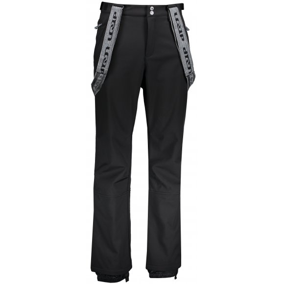 Pánské lyžařské softshellové kalhoty LOAP LEAM SFM1814 ČERNÁ
