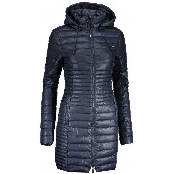 Dámský kabát LOAP JOMANA CLW18109 MODRÁ