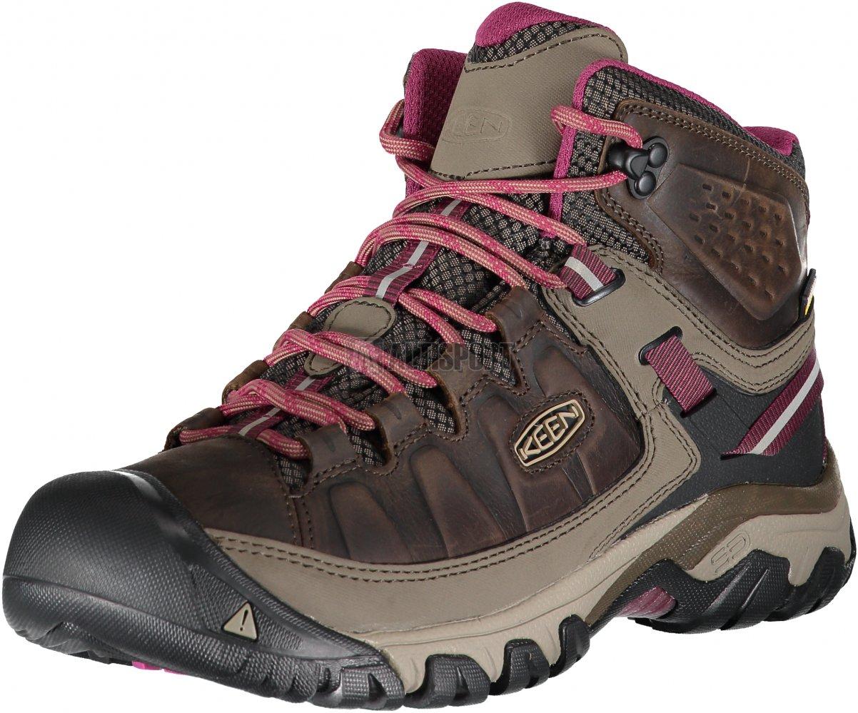 ee369ce637b Dámské kotníkové boty KEEN TARGHEE III MID WP W WEISS BOYSENBERRY ...
