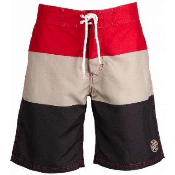 Pánské šortky SAM 73 HARB MPAL301 ČERVENÁ