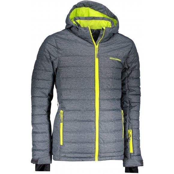 Pánská lyžařská bunda LOAP OMRI OLM1831 ŠEDÁ