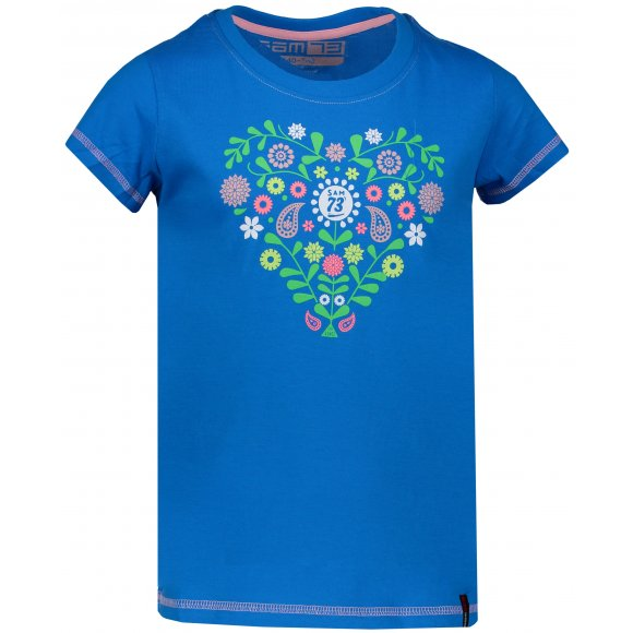 Dívčí triko SAM 73 EIONA KTSL130 MODRÁ