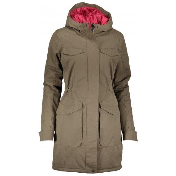 Dámský zimní kabát LOAP NADETTA CLW1895 ZELENÁ
