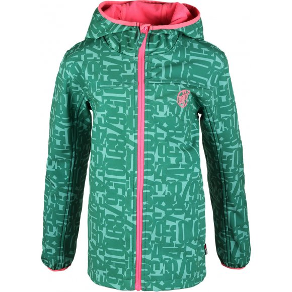 Dětská softshellová bunda SAM 73 CARMELLO KJCL107 ZELENÁ