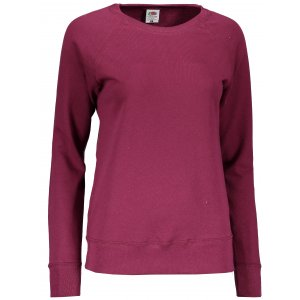 Dámská mikina FRUIT OF THE LOOM LIGHTWEIGHT RAGLAN SWEAT LADY BURGUNDY