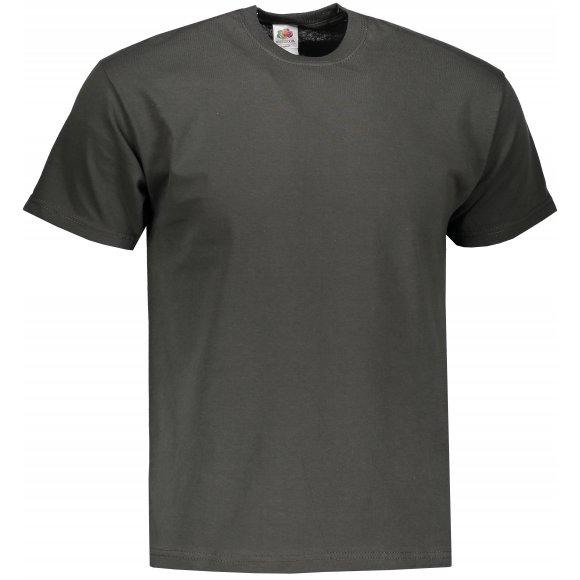 Pánské tričko FRUIT OF THE LOOM ORIGINAL LIGHT GRAPHITE