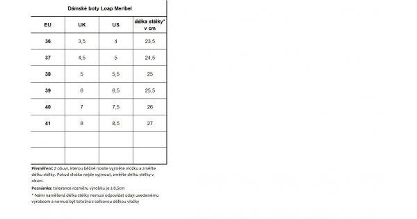 Dámské zimní boty LOAP MERIBEL SBL1744 ČERNÁ velikost  EU 38 (UK 5)    ALTISPORT.cz cf6c12397d
