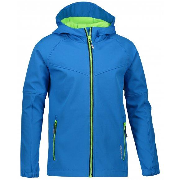 Chlapecká softshellová bunda ICEPEAK RAKIN JR 51817682350 ROYAL BLUE