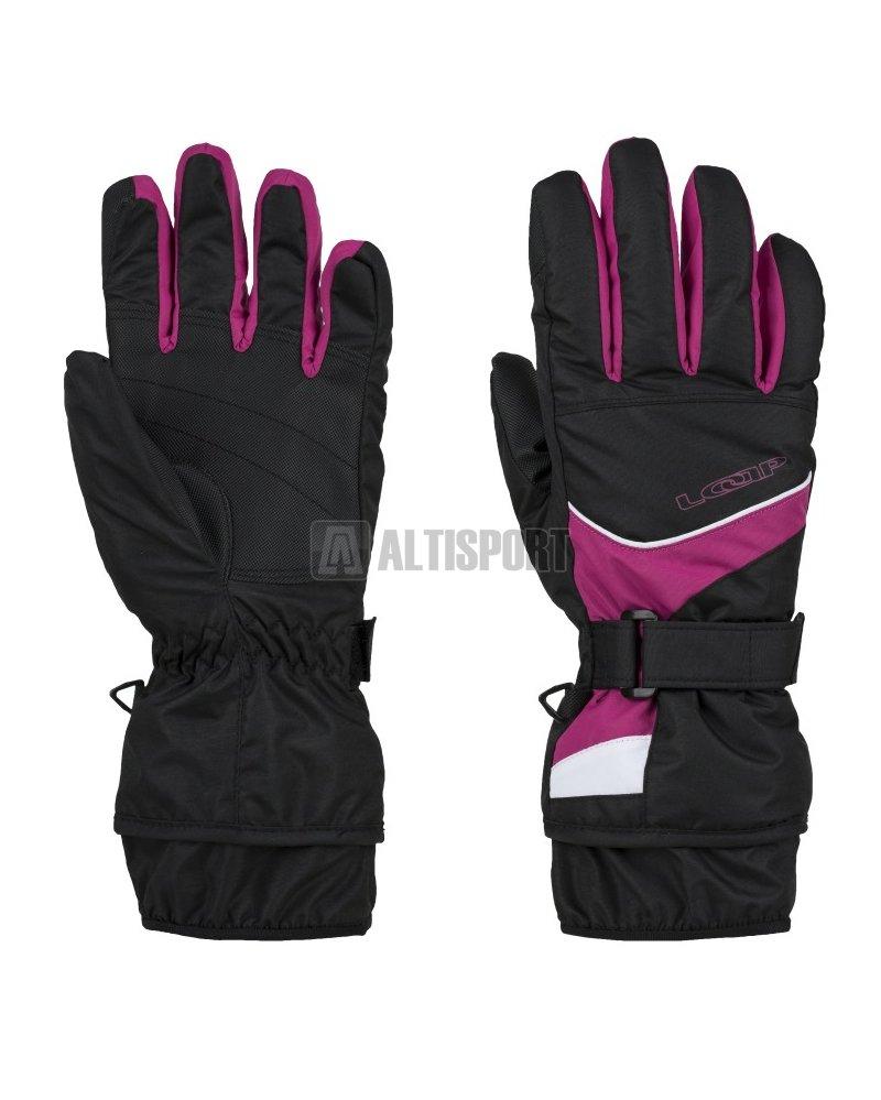 Lyžařské rukavice LOAP RODON GKU1802 RŮŽOVÁ velikost  M   ALTISPORT.cz 3e307d4031