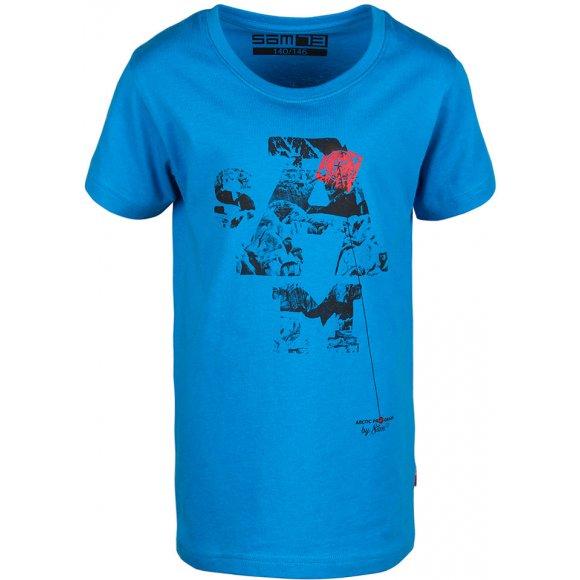 Chlapecké triko SAM 73 VAHITO 2 KTSL128 MODRÁ