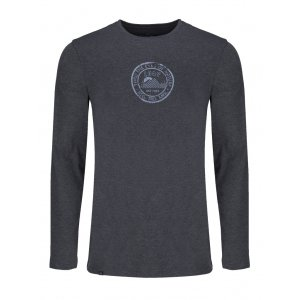 Pánské triko s dlouhým rukávem LOAP ALONZO CLM1872 MODRÁ c506750949