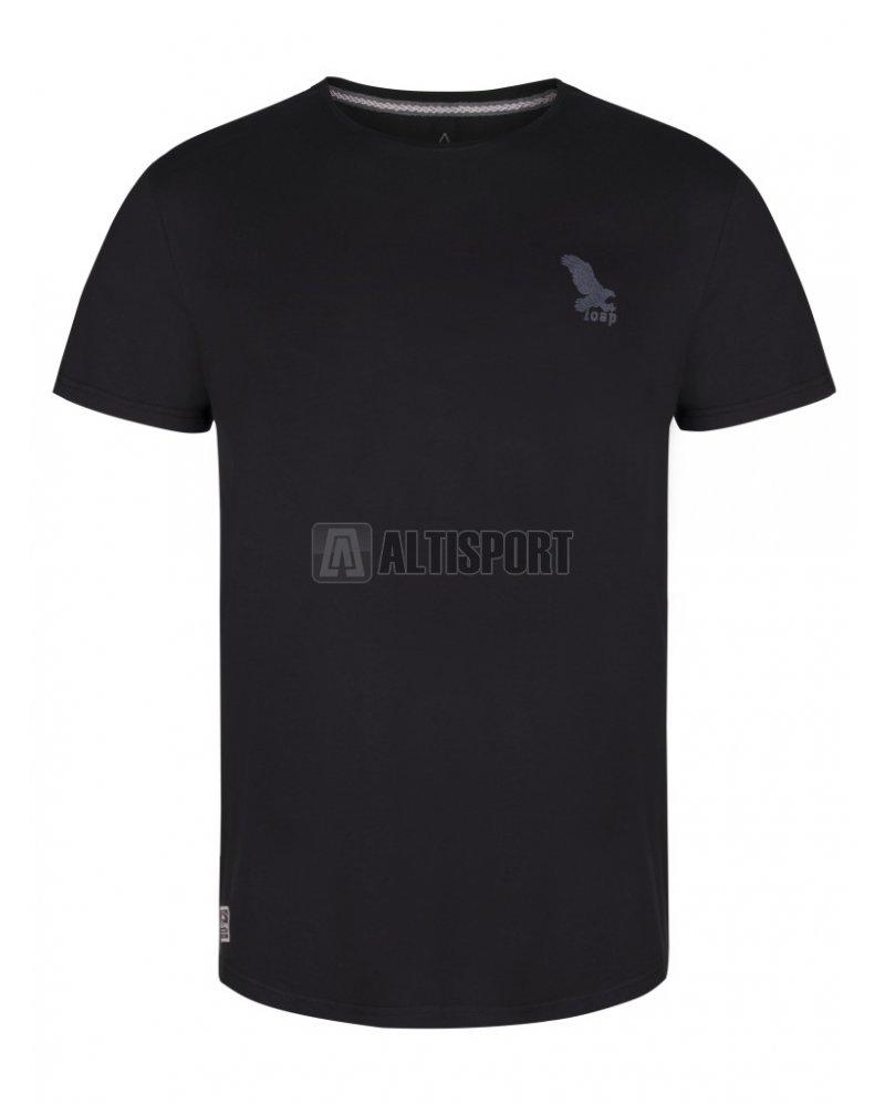 Pánské triko s krátkým rukávem LOAP BURAK CLM1882 ČERNÁ velikost  S ... dbc3cf4a5b
