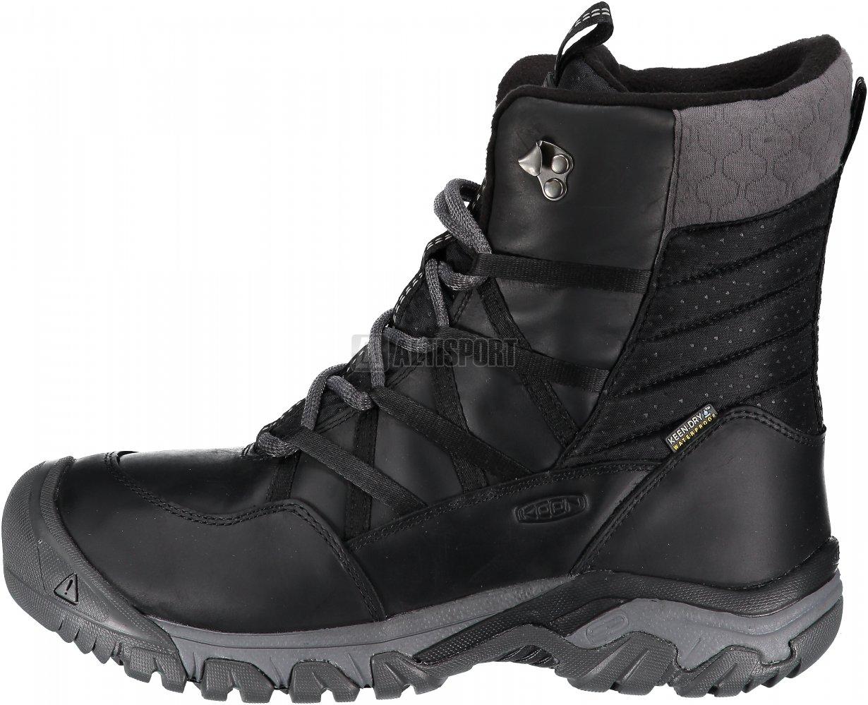 3e83b55c783 Dámské zimní boty KEEN HOODOO III LACE UP W BLACK MAGNET velikost ...