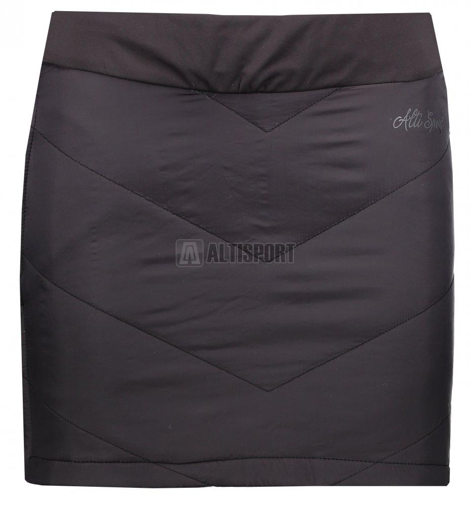 Dámská zateplená sukně ALTISPORT RANOBE ČERNÁ velikost  36 ... 7fe9fe2477