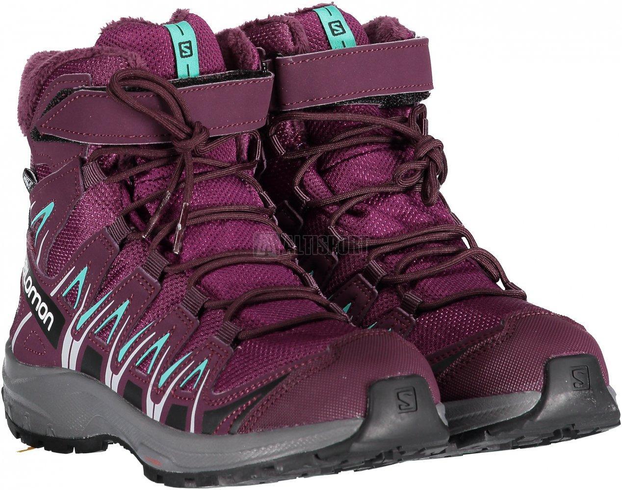 Dětské zimní boty SALOMON XA PRO 3D WINTER TS CSWP J L40651000 DARK  PURPLE POTENT 5431e54b3da