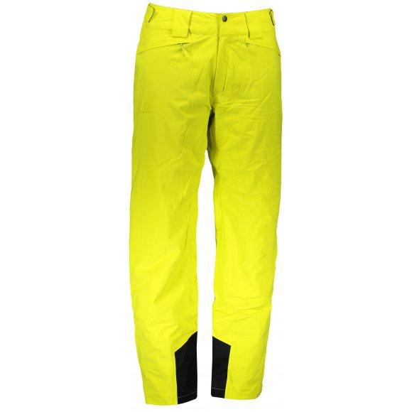 Pánské lyžařské kalhoty SALOMON ICEMANIA PANT M LC1004100 SULPHUR SPRING