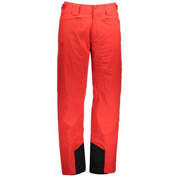 Pánské lyžařské kalhoty SALOMON ICEMANIA PANT M LC1004200 FIERY RED