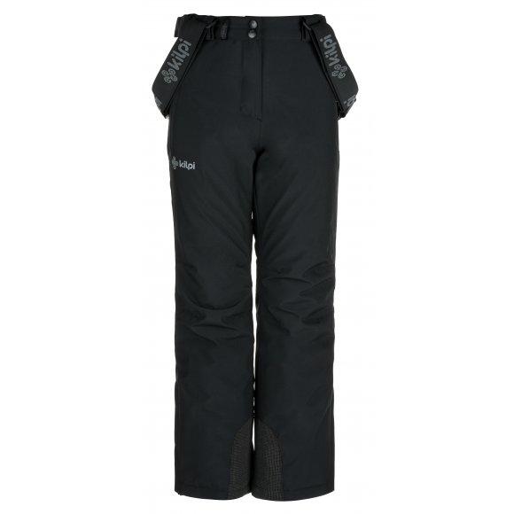 Dívčí lyžařské kalhoty  KILPI EUROPA-JG JJ0045KI ČERNÁ