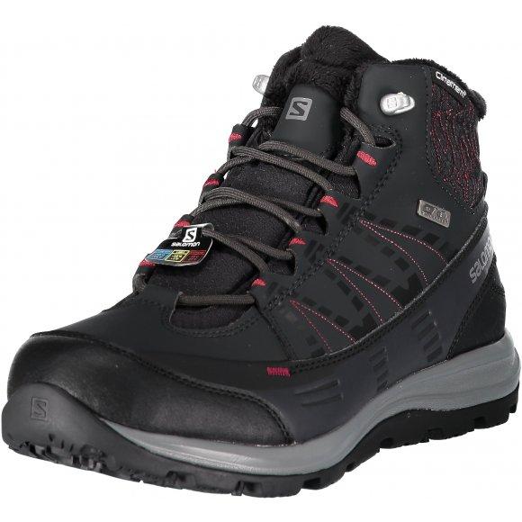 Dámské zimní boty SALOMON KAÏNA CS WP 2 L40472800 PHANTOM/BLACK/BEET RED